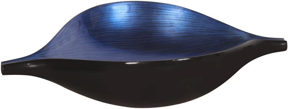 Howard Elliott 22110 Wood Bowl, Cobalt Blue