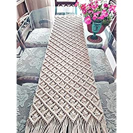 Best Dining Table Runner by Macrame