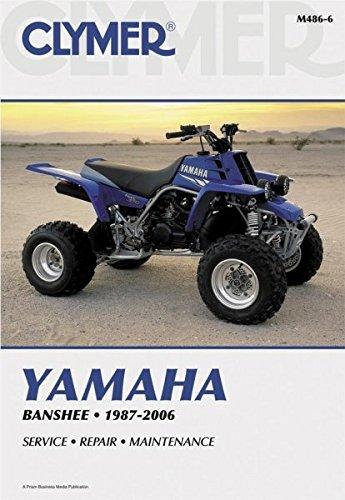 amazon com clymer repair manual for yamaha atv yfz350 banshee 87 06 rh amazon com yamaha banshee service manual pdf free yamaha banshee service manual free