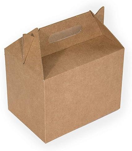 Kartox | Caja Picnic Maxi de Cartón Kraft | Caja para Fiestas ...