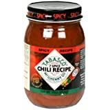Tabasco Seven Spice Chili Spicy Chili Starter (1x16 Oz)