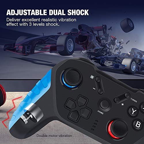 Wireless Controller for Switch and Switch Lite, Y Team Joystick Gamepad Switch Remote Controller with NFC and Turbo Function