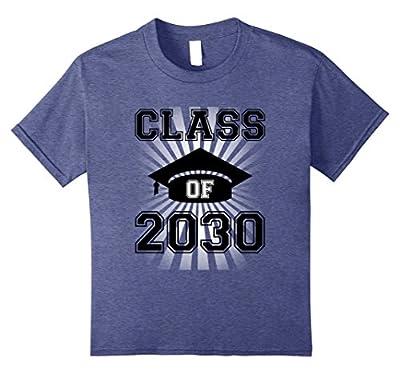 Class Of 2030 T-Shirt - Kindergarten Future Graduate Tee