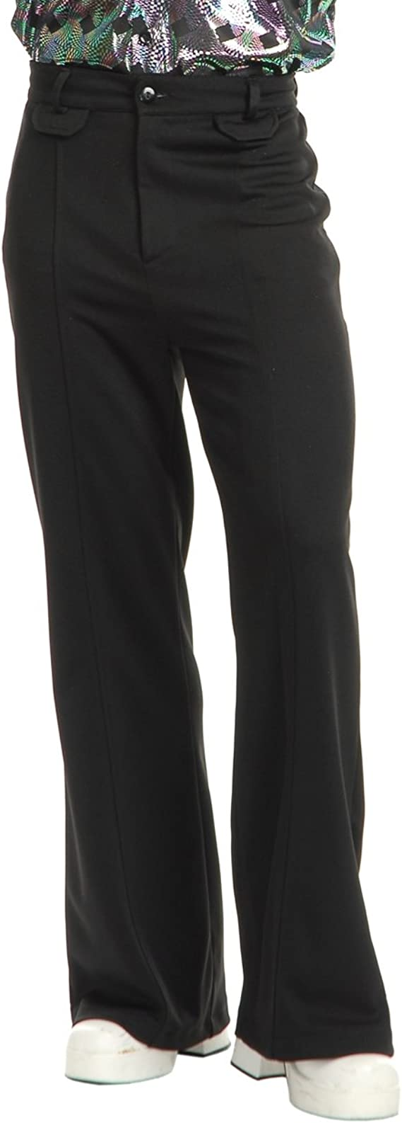 Pantalones disco para hombre de Charades, color negro