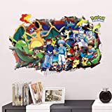 GADGETS WRAP Pokemon All Wall Decal for Home, Office