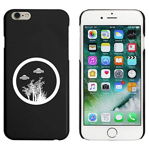 Schwarz 'Bäume & UFOs' Hülle für iPhone 6 u. 6s (MC00045777)