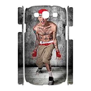 ZK-SXH - Machine Gun Kelly Diy 3D Cell Phone Case for Samsung Galaxy S3 I9300, Machine Gun Kelly Personalized 3D Cell Phone Case