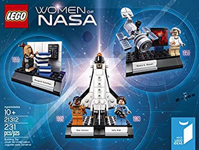 LEGO Ideas Women of Nasa 21312 Building Kit (231 Piece) by LEGO