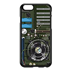 Computer motherboard Black Hard Plastic Case for iPhone 6 by Nick Greenaway + FREE Crystal Clear Screen Protector
