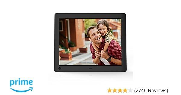 Amazon Nix Advance 8 Inch Hi Res Digital Photo Frame With