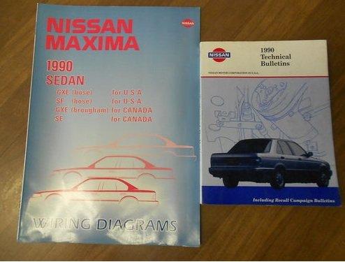 1990 nissan maxima wiring diagram set service repair manual 2001 nissan sentra wiring diagram wiring diagram for 1990 nissan maxima #15