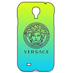 Unique Style 3D Hard Plastic Versace Logo Phone Case For Samsung Galaxy S4_green/blue