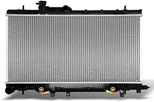 TYC 13051 Subaru Impreza 1-Row Plastic Aluminum Replacement Radiator