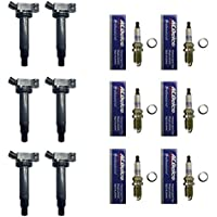 Set of 6 AD AutoParts Ignition Coils B149 + 6 ACDelco...