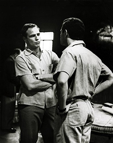 Marlon Brando and Michael Kidd Photo Print (8 x 10)