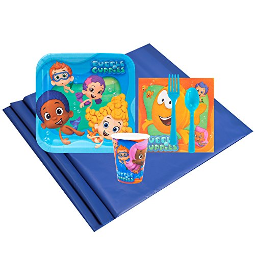 BirthdayExpress Bubble Guppies 8 Guest Party