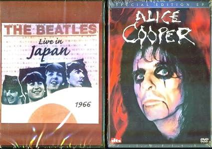 Amazoncom The Beatles Live In Japan 1966 Alice Cooper Ep 2