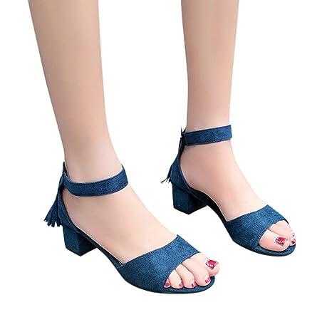 bccd33c030627 Amazon.com: Women's Sandals Bummyo Women'S Sandals Fashion Roman ...