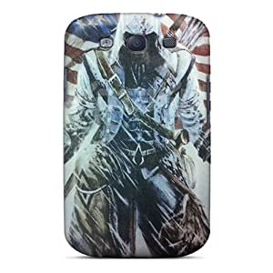 New Assassins Creed 3 Tpu Skin Case Compatible With Galaxy S3