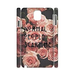American Horror Story DIY 3D Cover Case for Samsung Galaxy Note 3 N9000,personalized phone case ygtg-770433