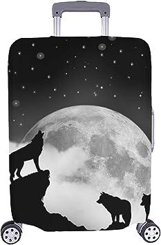Wolf Pack Alpha Full Moon Concept - Maleta de Viaje con Ruedas (28 ...