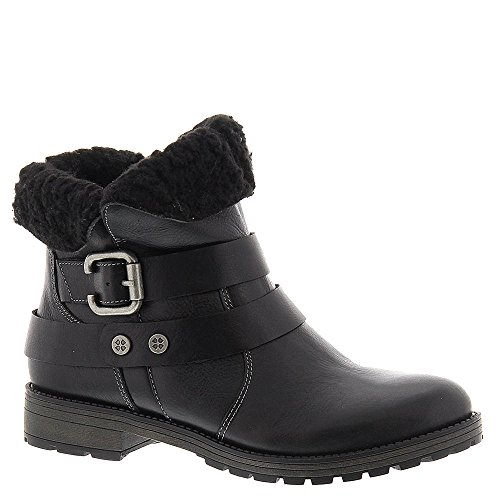 Talley Black Leather Boot 9 M (B) ()