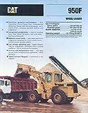 1991 Caterpillar 950F Wheel Loader Brochure