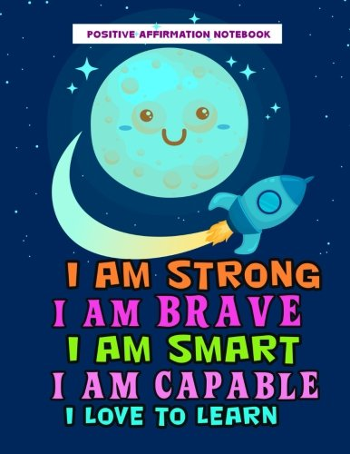Image result for Positive Affirmation Notebook: Positive Self-Affirmations for Kids Law of Attraction Children Book Journal Cards Notebook