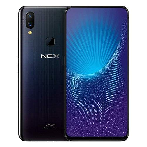 "Vivo Nex Mobile Phone Snapdragon 710/845 Octa Core 6.59"" OLED Full Screen Auto-elevated Camera 4000mAh Type-C AI HiFi (REAL STAR TECHNOLOGY) (6G 128GB Black)"