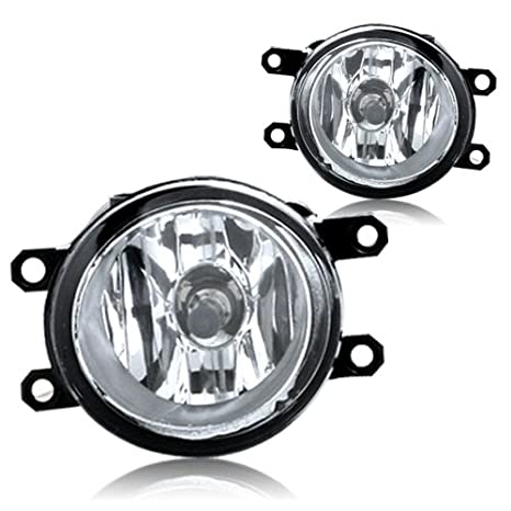 amazon com: 2012-2013 toyota tacoma fog light driving lamp clear kit + wiring  harness + switch pair l&r: automotive