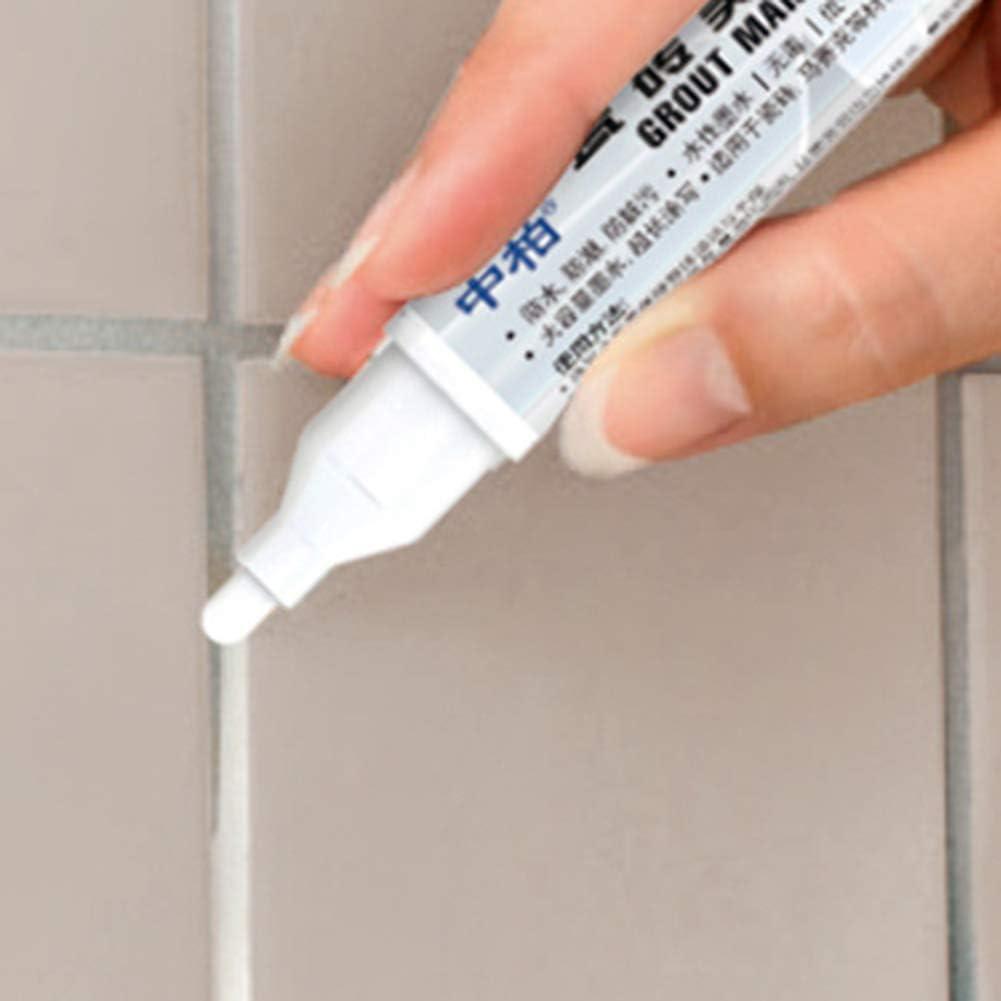 gris FEIDAjdzf no t/óxico y resistente al agua Marcador para juntas de azulejos