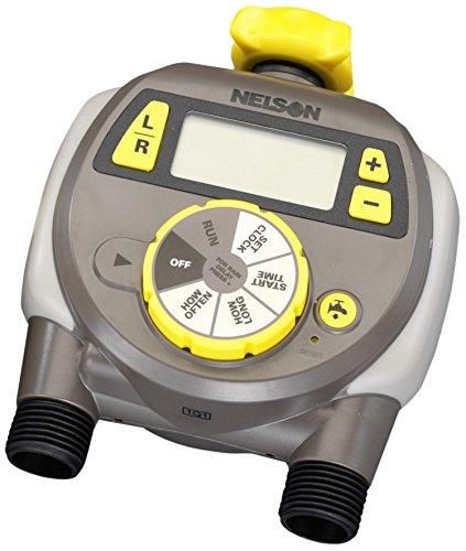 エスコ スプリンクラ用タイマ ダブル/デジタル式 EA124KT-6 B00TGQPNBU