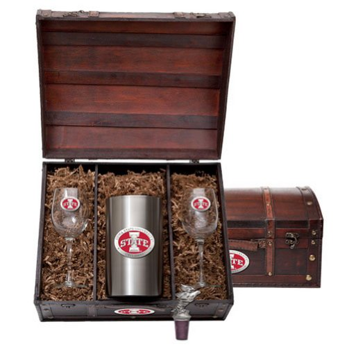 Iowa State Cyclones Team Logo Wine Gift Set by Heritage Pewter