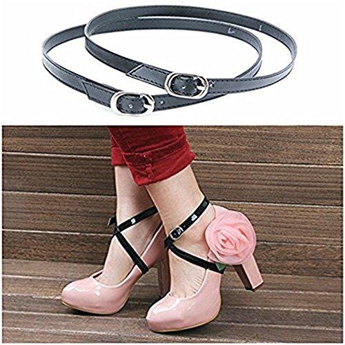 ewinever(R) 1pair Frauen-Absatz-Sommer-Pumpen-Knöchel-Anti-Rutsch-Sandalen Damen-Schuhe