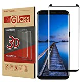 Galaxy S8 Plus Screen Protector,Galaxy S8 Plus Tempered Glass,[Case Friendly Verison] [Bubble Free] Kaseberry Glass Screen Protector for Samsung Galaxy S8 Plus (Col#003)