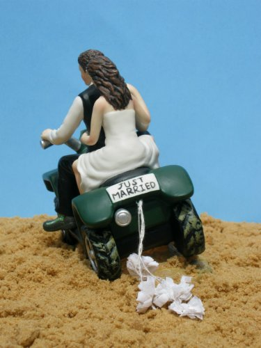 ATV Camo Wedding Cake Topper by Magical Day by Magical Day (Image #4)