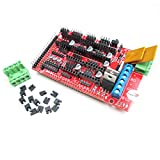 HiLetgo RAMPS 1.4 Control Panel 3D Printer Control Board Reprap Control Board Support Arduino Mega 2560