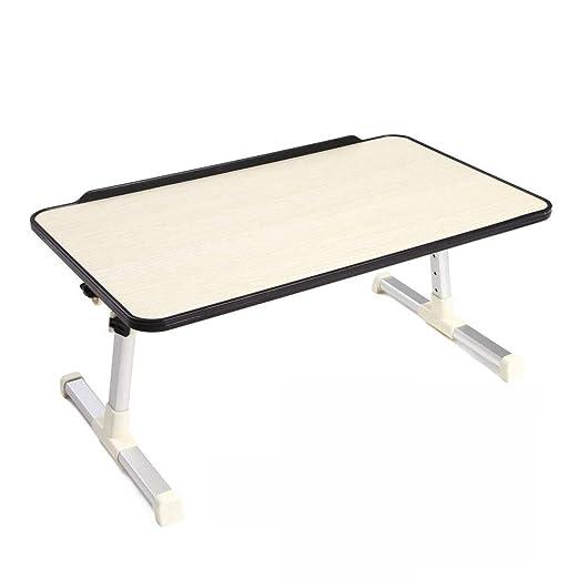 Mesa portátil ajustable, mesa plegable portátil con cama portátil ...