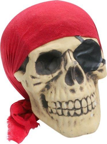 Scary Bones Pirate Skull Halloween Prop -