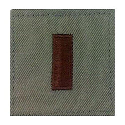 Sage Green AIR FORCE Rank Insignia - O-1 2ND LIEUTENANT ()