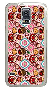 Caramelaw Clear Hard Case Cover Skin For Samsung Galaxy S5 I9600