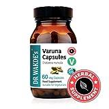 DR WAKDE'S® Varuna Capsules (Crataeva nurvula) I 100% Herbal I 60 Veggie Capsules I Ayurvedic Supplement I FREE SHIPPING on multiples I Quantity Discounts I Same Day Dispatch