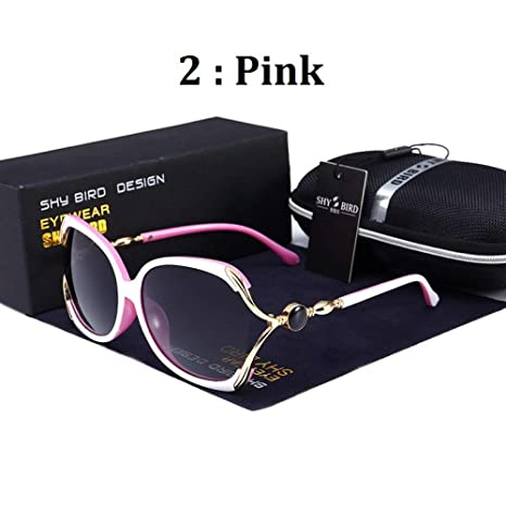 Yangjing-hl Gafas de Montura Redonda Gafas Gafas Grandes ...