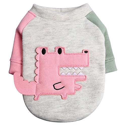 Midsummer Madness!Fauean Spring and Summer Cute Dog Clothes Small Crocodile Pullover Pet Costumes,Adorable Wearing Stylish Cozy Halloween,Christmas Costumes