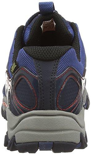 Merrell Grassbow Sport Gore-Tex - Zapatos de Low Rise Senderismo Hombre Multicolor (Navy/Tahoe Bluenavy/Tahoe Blue)