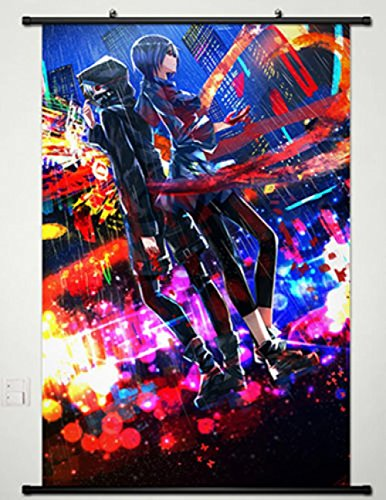 Home Decor Anime Tokyo Ghoul Wall Scroll Poster Ken Kaneki &