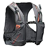 Nathan NS4535 Vaporkrar Hydaration Pack Running Vest with 1.5L Bladder, Steel Grey, X-Small