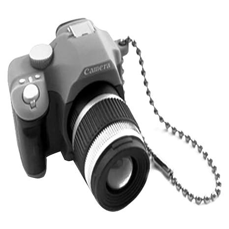 Llavero de simulación para cámara réflex (color al azar) con ...