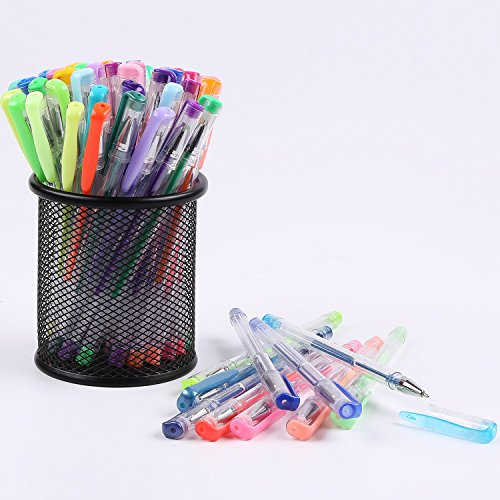 Courise 108 Unique Colors Gel Pens Gel Pen Set For Adult Coloring books Drawing Painting Doodling