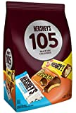 HERSHEY'S 105ct Assorted Bulk Chocolate Bars - 1.5kg - Halloween Candy - Includes Reese, OH Henry! & HERSHEY'S Cookies…